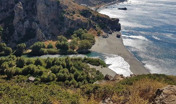 παραλία μονή πρέβελη