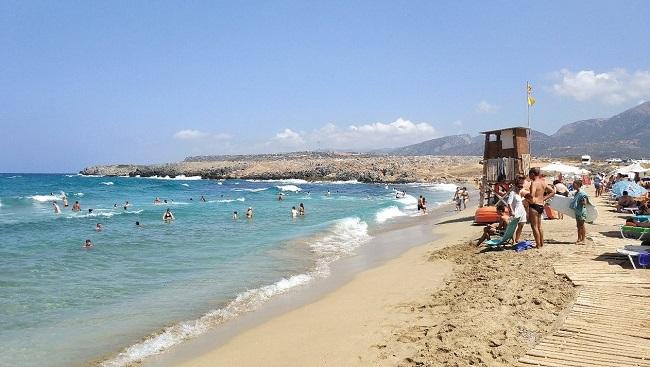 αμμώδεις παραλίες κρήτη