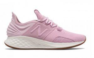 ροζ ανοιχτό αθλητικό παπούτσι άσπρη σόλα