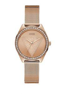 ροζ χρυσό ρολόι με ζιργκόν πέτρες αδιάβροχα ρολόγια μπρασελέ