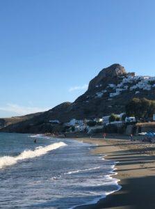 παραλία Σκύρος μόλος