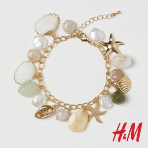 βραχιόλι με κοχύλια H&M