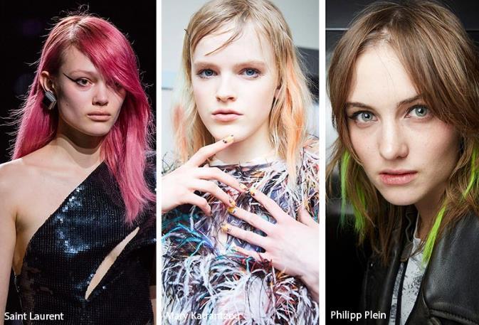 χρωματιστές αποχρώσεις μαλλιών για τον χειμώνα 2020