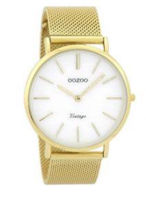 χρυσό ρολόι άσπρο καντράν αδιάβροχα ρολόγια μπρασελέ