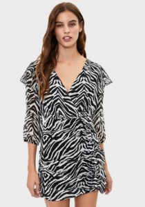animal print φόρεμα
