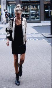 αρβύλες μαύρες φόρεμα ζακέτα