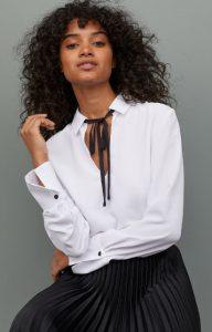 άσπρη γυναικεία μπλούζα χειμώνας 2020