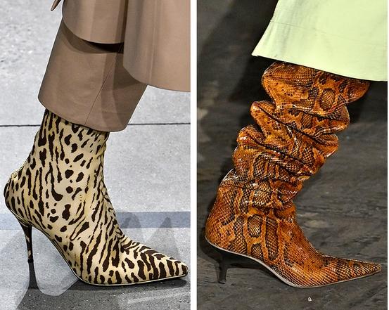 Μπότες με animal prints