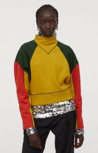 color block γυναικεία φούτερ μπλούζα