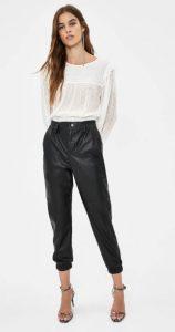 δερμάτινο παντελόνι