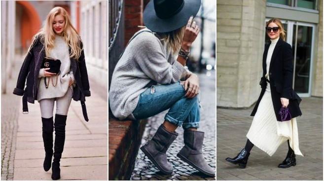 30 Σικ φλατ παπούτσια για τις βόλτες σου το χειμώνα!