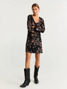 φόρεμα κοντό με σχέδιο