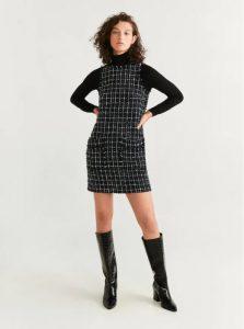 φόρεμα τουίντ κοντό