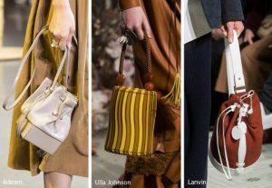 γυναικείες τσάντες πουγκί