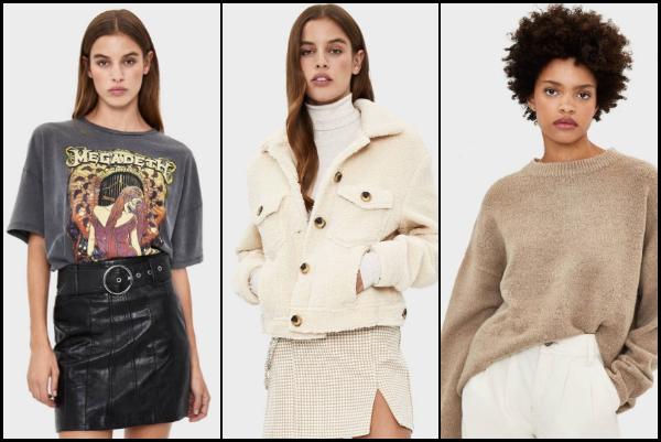 Νέα γυναικεία ρούχα Bershka για το Χειμώνα 2019-2020