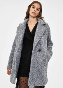 γκρι παλτό