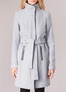 γκρι παλτό vero moda