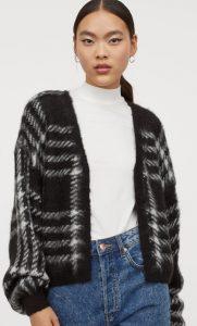 γούνινο γυναικείο πανωφόρι h&m