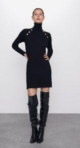 γυναικεία χειμερινά φορέματα zara 2020