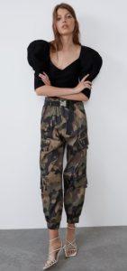 γυναικείο στρατιωτικό παντελόνι cargo