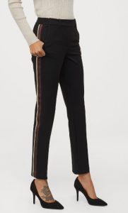 γυναικείο παντελόνι με ρίγα στο πλάι