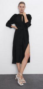 φόρεμα βαθύ σκίσιμο χειμώνας 2020