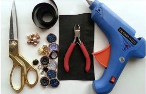 Υλικά για κοσμήματα από κουμπιά
