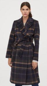 καρό γυναικείο παλτό χειμώνας 2020