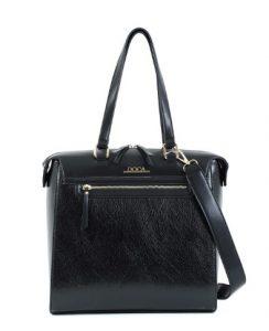 μαυρή τσάντα ώμου