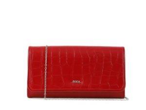 κόκκινη τσάντα φάκελος