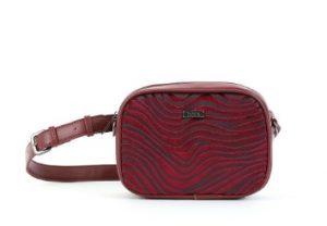 κόκκινη τσάντα μέσης