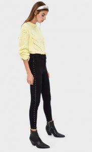 μαύρο παντελόνι με τρουκς