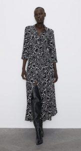 μακρύ φόρεμα πουκάμισο χειμώνας 2020