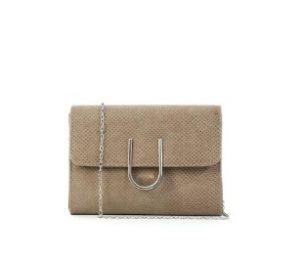 μπεζ φάκελος τσάντα