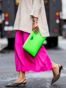 πράσινο φάκελος τσάντα
