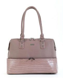 off pink τσάντα