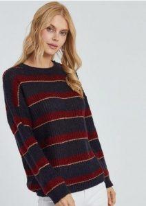 πολύχρωνο πουλόβερ