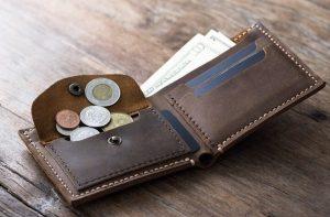 αντρικό πορτοφόλι