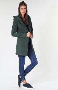 πράσινο παλτό