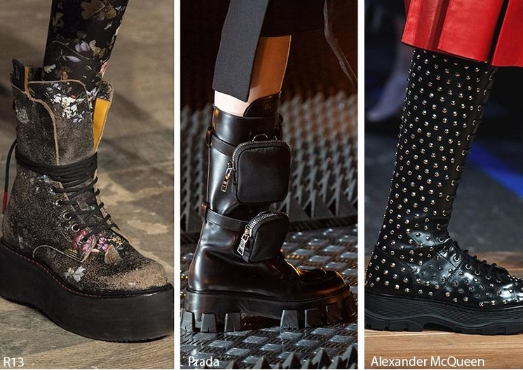 Μπότες και μποτάκια πανκ