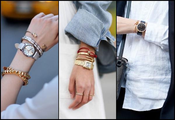 Πως να φορέσεις ρολόι με βραχιόλια!