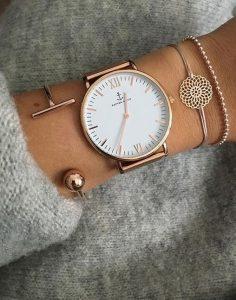 rosegold ρολόι, rosegold αξεσουάρ