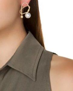 σκουλαρίκια με πέρλα