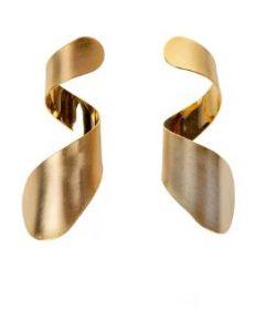 σπιράλ σκουλαρίκια