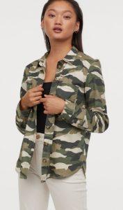 casual στρατιωτικό γυναικείο πουκάμισο ediva.gr