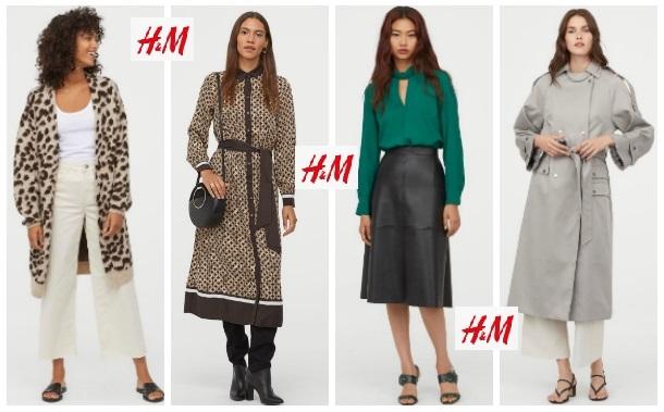 Χειμερινά γυναικεία ρούχα H&M για το 2020