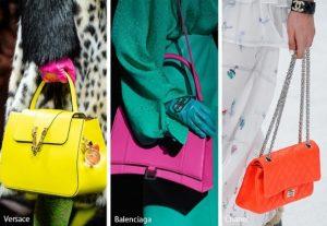 τσάντα με χρώματα νέον