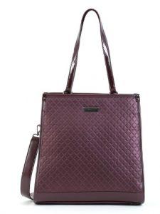 βυσσινί τσάντα