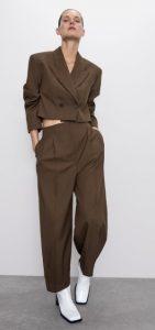 φαρδιά γυναικεία παντελόνα με πιέτες