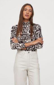 ζιβάγκο μπλούζα h&m 2020